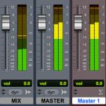 Comparaison Niveaux Mix/Master : plus fort...