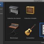 Nouveau Projet 2-GarageBand